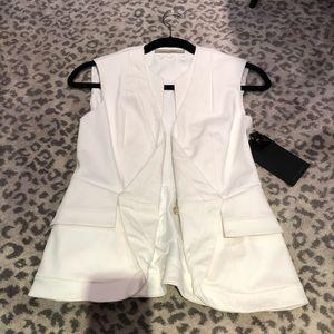 Brand new stretch cotton vest